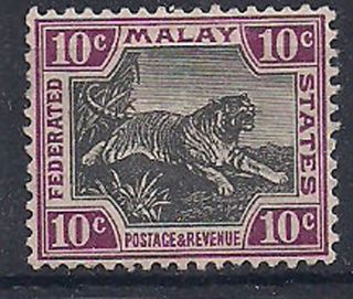 Malaya - 1904 Wild Animal Mlh - Vf 32a photo