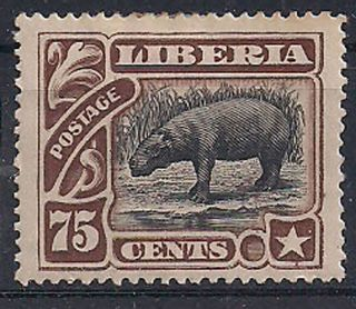 Liberia - 1906 Wildlife Mlh - Vf 102 photo