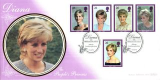3 February 1998 Princess Diana Benham First Day Cover Althorp Shs (a) photo