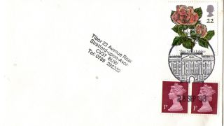 28 September 1993 Roses Cover Buckingham Palace London Sw1 Shs photo