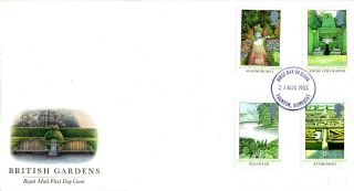 24 August 1983 British Gardens Royal Mail First Day Cover Taunton Fdi photo