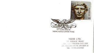15 June 1993 Roman Britain Cover Roman Britain Newcastle Upon Tyne Shs (b) photo