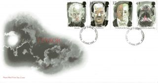 13 May 1997 Tales Of Terror Royal Mail First Day Cover Taunton Fdi photo