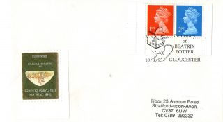 10 August 1993 Beatrix Potter Cover Centenary Of Beatrix Potter Gloucester Shs A photo