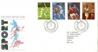10 October 1980 Sport Centenaries Post Office First Day Cover Bureau Shs photo