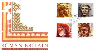 15 June 1993 Roman Britain Royal Mail First Day Cover House Of Commons Sw1 Cds photo