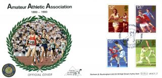 10 October 1980 Sport Centenaries Benham Bocs 23 First Day Cover Aaa London Shs photo