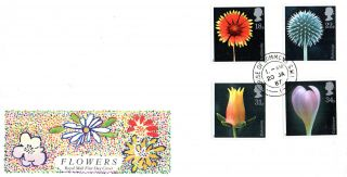 20 January 1987 Flowers Royal Mail First Day Cover House Of Commons Sw1 Cds photo