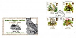 20 May 1986 Nature Conservation Philart First Day Cover House Of Commons Sw1 Cds photo