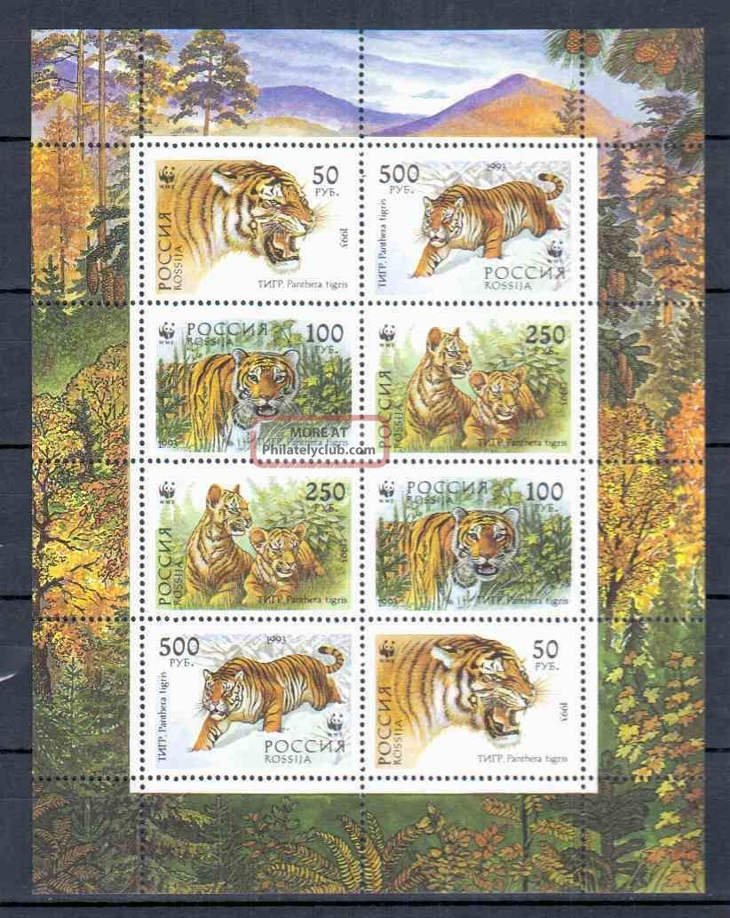 Russia Sheet Animals Wwf Animal Kingdom photo