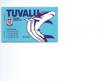 Tuvalu 1979 Booklet Fishes photo