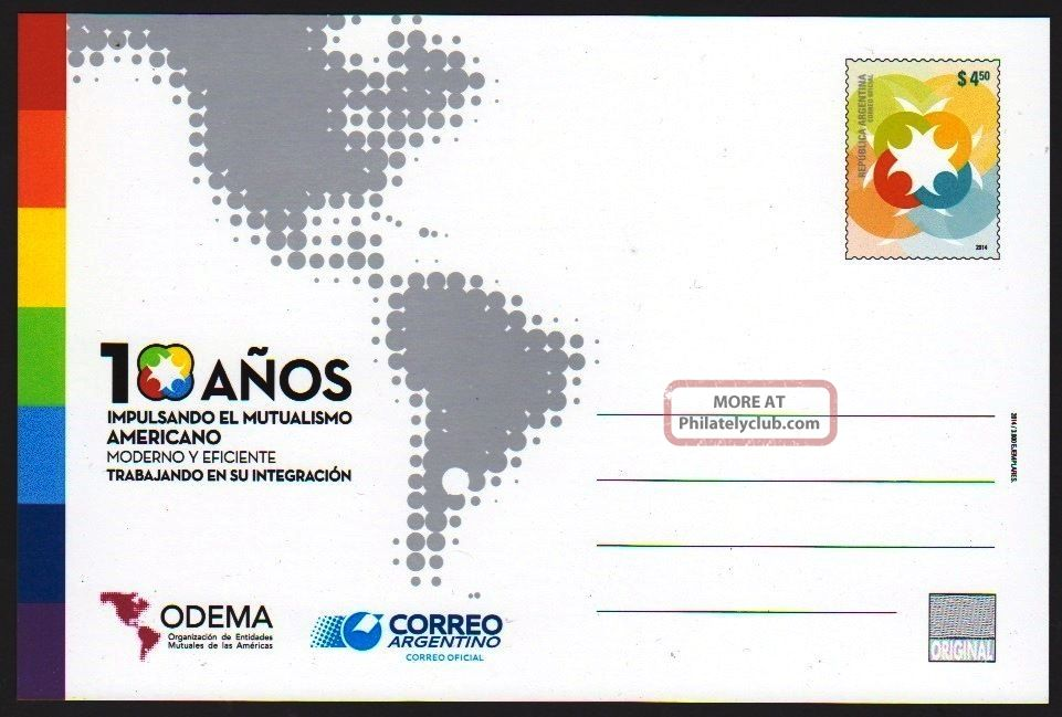 Argentina: Ep - American Mutualism (2014) Postcard / Stationery Latin America photo