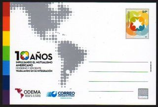 Argentina: Ep - American Mutualism (2014) Postcard / Stationery photo