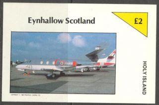 Eynhallow (br.  Local) 1982 Aviation X S/s 2£ Ne091 photo