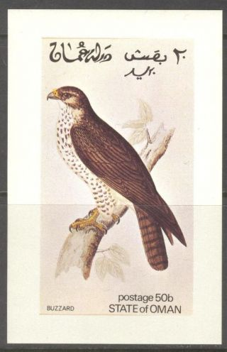 Oman Birds Iii Buzzard S/s No017 photo