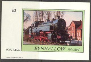 Eynhallow (br.  Local) 1982 Trains Locomotives Ii S/s 2£ Ne113 photo