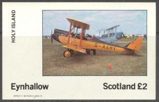 Eynhallow (br.  Local) 1982 Aviation Airplanes Iii S/s 2£ Ne084 photo