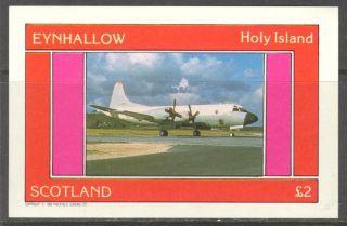 Eynhallow (br.  Local) 1982 Aviation Airplanes Ii S/s 2£ Ne083 photo