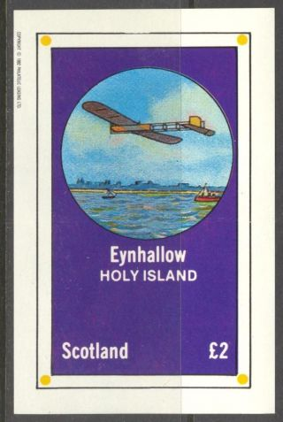 Eynhallow (br.  Local) 1982 Aviation Airplanes I S/s 2£ Ne082 photo
