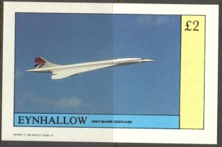 Eynhallow (br.  Local) 1982 Aviation Airplanes V S/s 2£ Ne086 photo