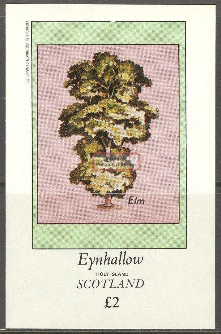 Eynhallow (br.  Local) 1982 Trees Elm S/s 2£ Ne071 Specialty Philately photo