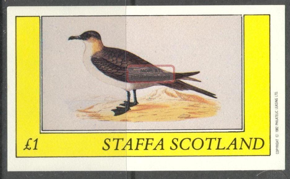 Staffa (br.  Local) 1982 Birds Xxv S/s 1£ Ns070 Specialty Philately photo