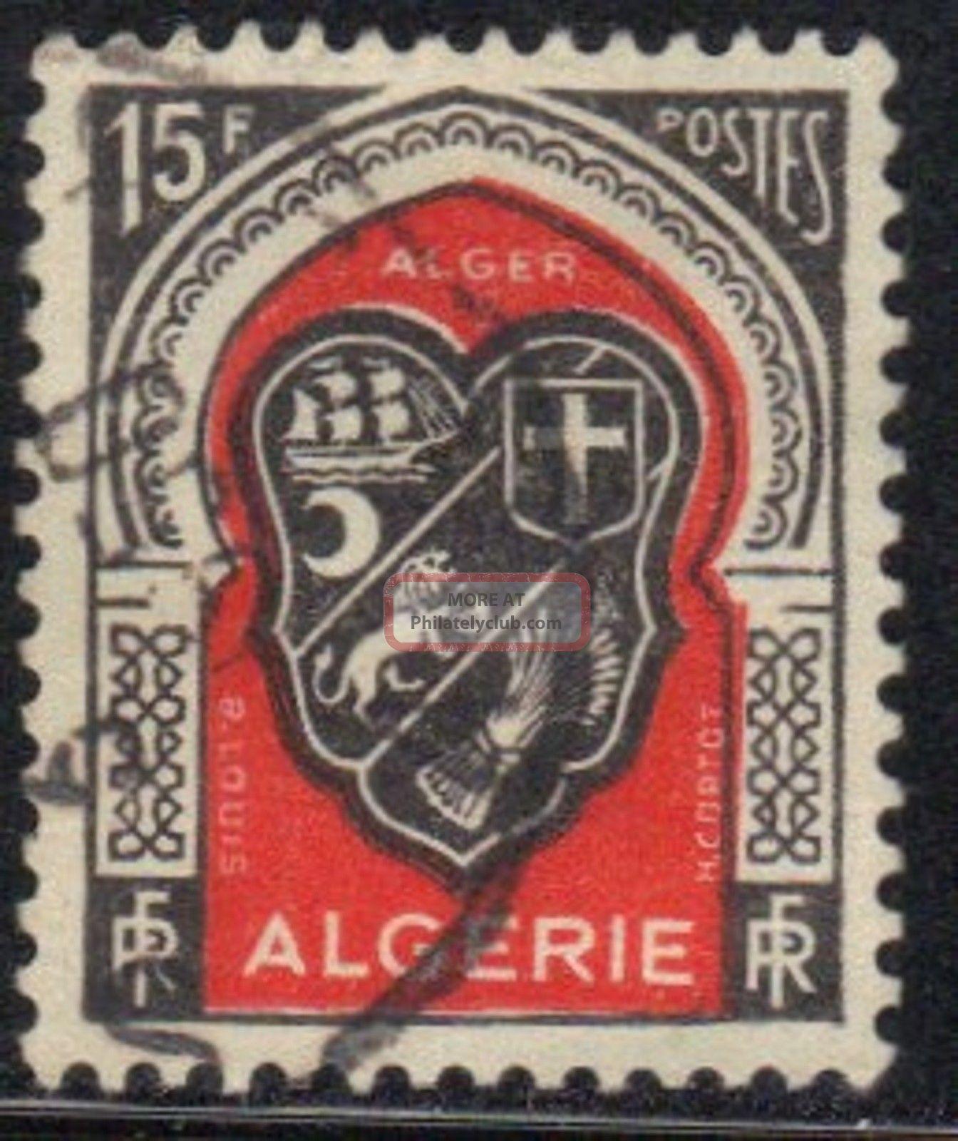 Algeria Stamp Scott 225 Stamp See Photo Africa photo