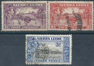 (3914) Sierra Leone.  1938/44. . photo