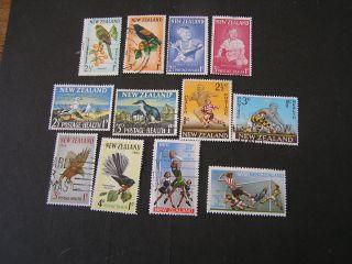 Zealand,  Scott B61/b62+b65/b66+b67/b68+b69/b70+b73/b74+b80/b81 1961+ photo