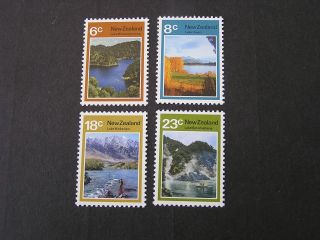 Zealand,  Scott 507 - 510 (4) 1972 Zealand Lakes Issue Mvlh photo
