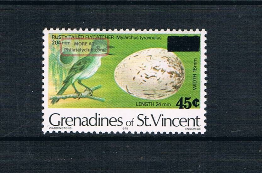 Gren St Vincent 1983 Surcharge Issue Sg 241 British Colonies & Territories photo