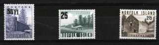 Norfolk Island 1960 Definitives Sg37/39 photo