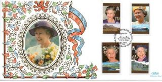 Benham Falkland Islands Queen ' S 70th B/day Fdc 21 - 4 - 96 Stanley Fdi - F13 photo